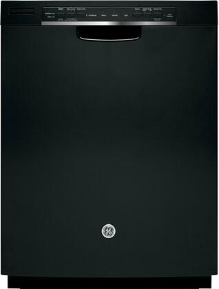 """GE GDF540HGDBB 24"""" Built-In Full Console Dishwasher 