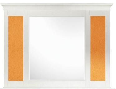 Magnussen Y187543 Kenley Series Childrens Rectangular Portrait Cork Mirror