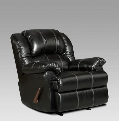 Chelsea Home Furniture 2001TB Verona IV Series Transitional Bonded Leather Wood Frame Rocking Recliners