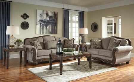 Milo Italia MI2553SL3T2LWACOCO Franco Living Room Sets