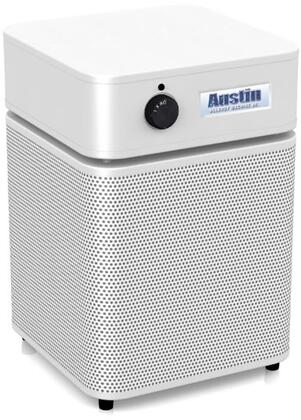 Picture of A205WHI Allergy Machine Junior Air Purifier  HEPA Filtration  3 Speed Control Switch  360 Degrees Filter System  Made of Durable Steel  Easy Filter Changes and