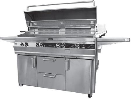 FireMagic E1060S2A1P62 Freestanding Liquid Propane Grill, in Stainless Steel