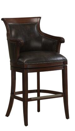 American Heritage 111140 Residential Bonded Leather Upholstered Bar Stool