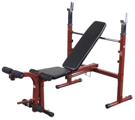 Picture of BFOB10 Best Fitness Olympic Folding Bench with Leg Developer and Space-Saving