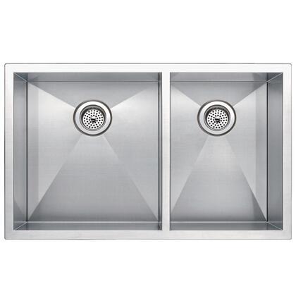 Water Creation SSU3320A Stainless Steel Kitchen Sink