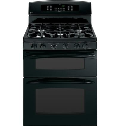 """GE Profile PGB995DETBB 30"""" Profile Series Gas Freestanding Range with 5 Sealed Burner Cooktop Oven 4.3 cu. ft. Primary Oven Capacity  Appliances Connection"""