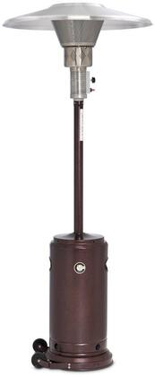 Crown Verity CV-2650-XX Liquid Propane Patio Heater with Reflector, 45,000 BTU/H, Adjustable Heat Output and Weather Resistant Construction in