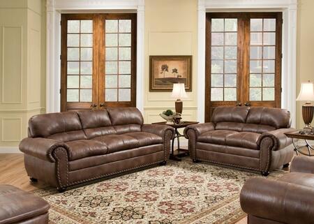 Simmons Upholstery 7510030109PADREESPRESSO Padre Living Room