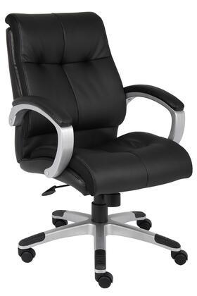 "Boss B8776SBK 32"" Adjustable Contemporary Office Chair"