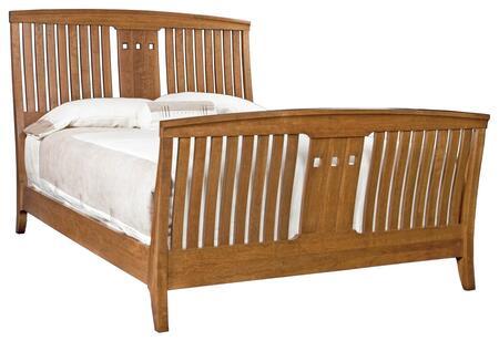 Durham 100127BA Westwood Series  Queen Size Sleigh Bed