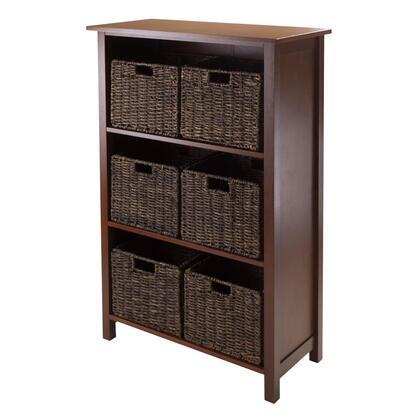 Winsome 94Granv7 Granville 7pc Storage Shelf with 6 Foldable Baskets