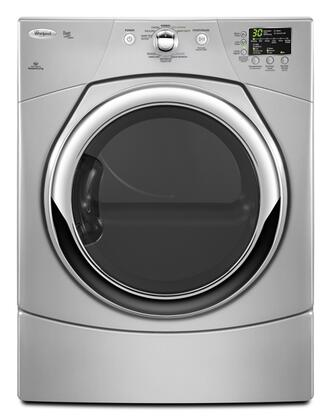 Whirlpool WGD9371YL Duet Series 6.7 cu. ft. Gas Dryer, in Silver