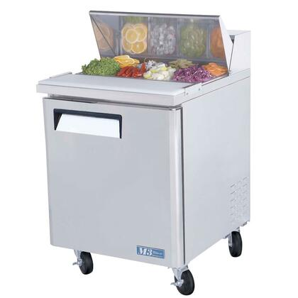 Turbo Air MST M3 Series Sandwich and Salad Unit with Cold Air Compartment, Convenient Cutting Board, Hot Gas Condensate System, Efficient Refrigeration System and Stainless Steel Cabinet Construction