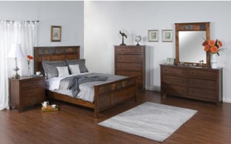 Sunny Designs 2334DCKBDM2NC Santa Fe King Bedroom Sets