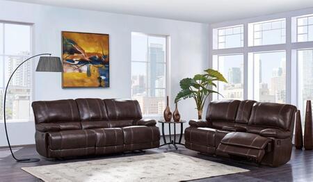 Global Furniture U1953AGNESCOFFEERSCRL U1953 Living Room Set