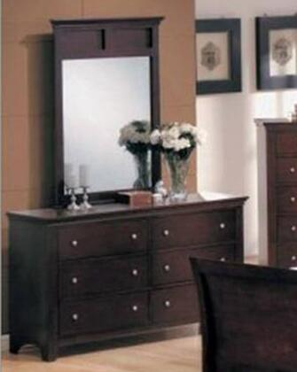 Yuan Tai MN4030M Montgomery Series Rectangular Portrait Dresser Mirror