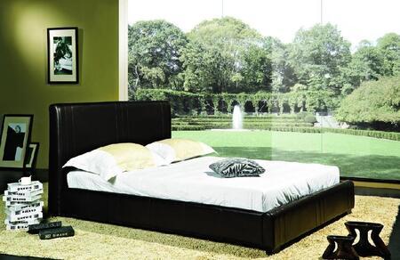 Abbyson Living ABBL217 Malibu Series  Queen Size Bed | Appliances Connection