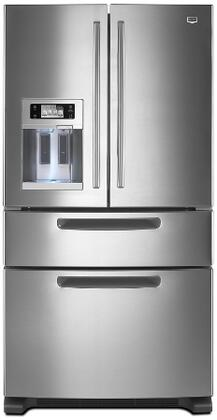 Maytag MFX2571XEM  French Door Refrigerator with 25 cu. ft. Total Capacity 4 Glass Shelves