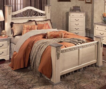 Harden 4300Q  Queen Size Poster Bed