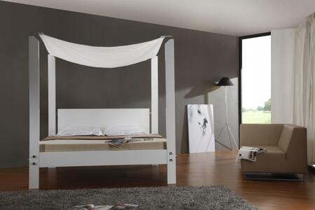 VIG Furniture LIASBEDCK  California King Size Canopy Bed