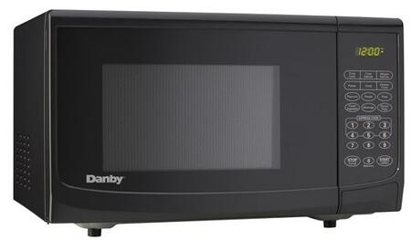 Danby DMW111KBLDB Countertop Microwave, in Black