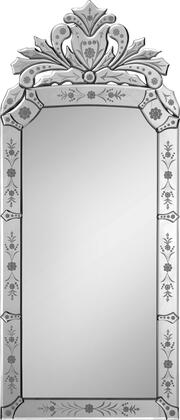 Ren-Wil MT1020  Rectangular Portrait Wall Mirror