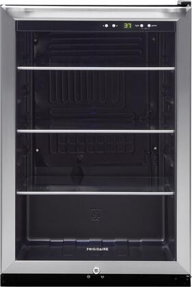 Frigidaire FFBC46F5LS  Compact Refrigerator with 4.6 cu. ft. Capacity in Stainless Steel