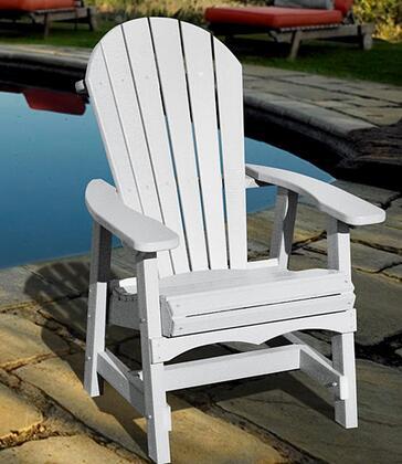 Vifah V1085W  Recycled Plastic Aidrondack Chair
