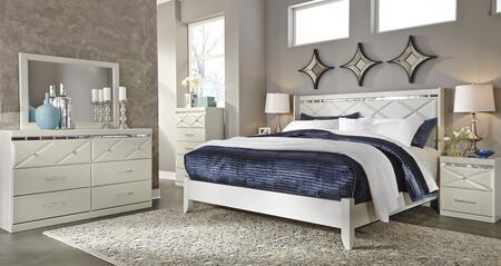 Milo Italia BR5215658DMC2N Strickland King Bedroom Sets