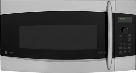 Stainless Steel Over The Range Microwave Oven With Zoom In Ge Profile 1
