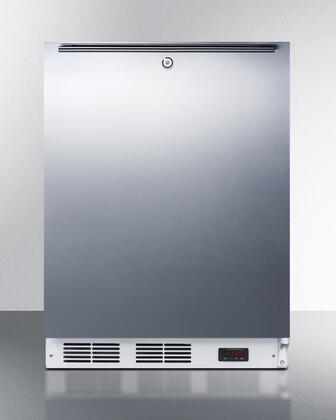 "Summit VT65ML7SSHHADA24"" Freestanding Upright Counter Depth Freezer"