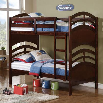 Coaster 460067 Zachery Series  Twin Size Bunk Bed