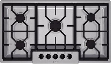 "Bosch NGM3654UC 36"" 300 Series Gas Sealed Burner Style Cooktop"