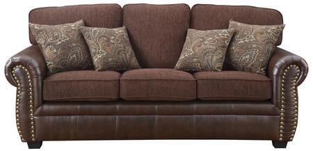 Coaster 504041 Florence Series Stationary Fabric Sofa