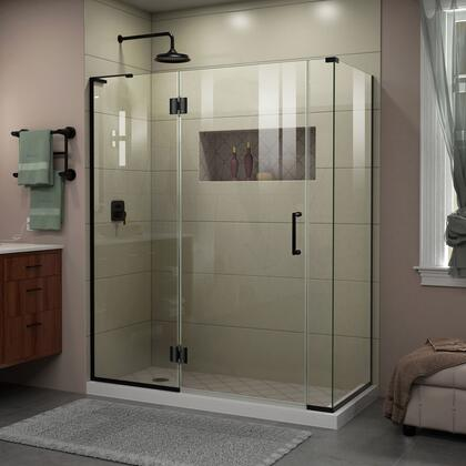 DreamLine Unidoor X Shower Enclosure 24HP 30D 6IP 30RP 09