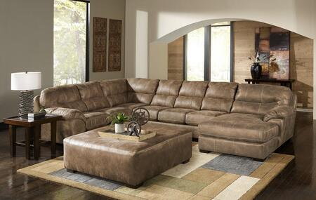 "Jackson Furniture Grant Collection 4453-62-30-76- 159"" 3-Piece Sectional with Left Arm Facing Section with Corner, Armless Sofa and Right Arm Facing Chaise in"