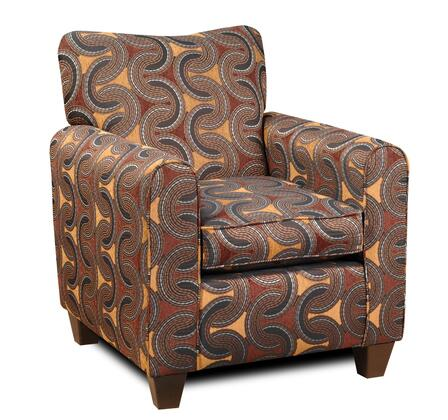Chelsea Home Furniture 20138BR Armchair Fabric Wood Frame Accent Chair |Appliances Connection