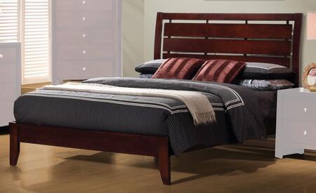 Coaster 201971Q Serenity Series  Queen Size Platform Bed