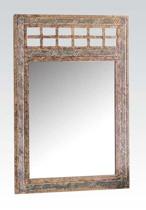 Acme Furniture 08634 Egyptian Series Rectangular Portrait Wall Mirror