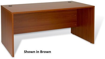 Unique Furniture 17132WH Contemporary Standard Office Desk