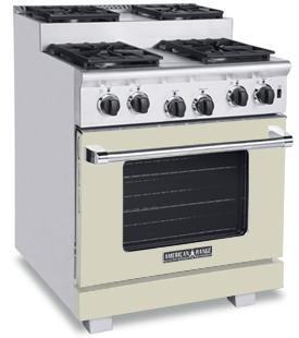 American Range ARR304SBG Titan Series Gas Freestanding Range with Sealed Burner Cooktop, 4.8 cu. ft. Primary Oven Capacity, in Beige