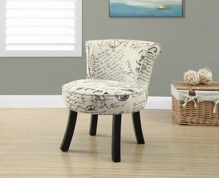"Monarch I 815Y 22"" Juvenile Chair with Curved Legs, Sturdy Construction and Fun Size"
