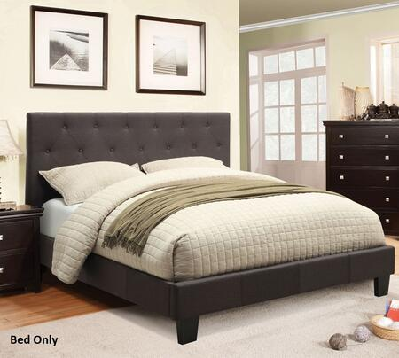 Furniture of America CM7200LBCKBED Leeroy Series  California King Size Bed