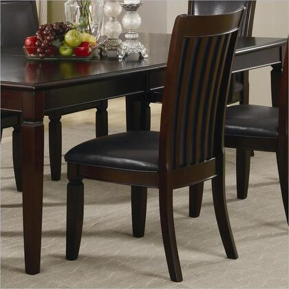 Coaster 101632 Ramona Series Contemporary Wood Frame Dining Room Chair