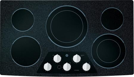 GE JP656DDWW CleanDesign Series Electric Cooktop |Appliances Connection