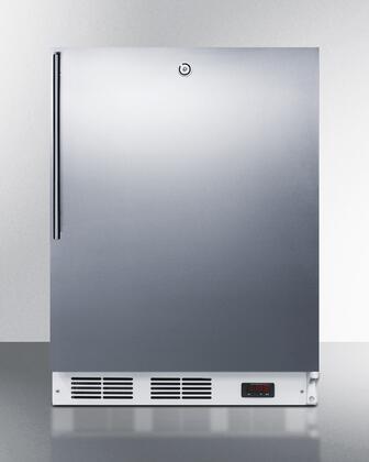 "Summit VT65ML7SSHVADA24"" Freestanding Upright Counter Depth Freezer"