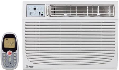 Impecca IWAxKS30 Electronic Controlled Window Air Conditioner with Remote, 4 Way Air Direction, Auto Restart, Slide Out, Clean Filter Indicator, Installation Kit, 24 Hour Delay, 3 Cooling Speeds, 3 Fan Speeds, 11.9 EER, 11.8 CEER and Energy Star in, White