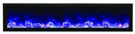 Amantii BI72DEEP Panorama Series Wall Mountable Electric Fireplace