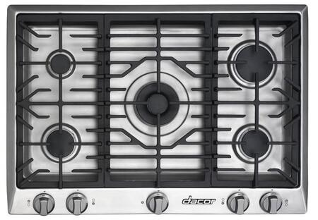 Dacor DCT305SLP Distinctive Series Liquid Propane Sealed Burner Style Cooktop, in Stainless Steel