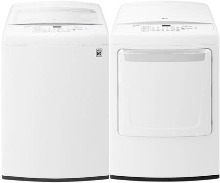 LG 653198 Washer and Dryer Combos